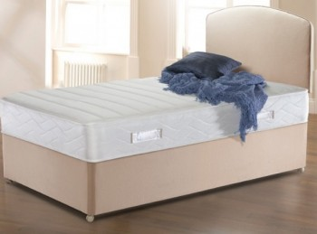 Sealy Solo Excel Quilted 3ft6 Large Single Divan Bed