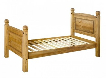 Core Corona 3ft Single Pine Wooden Bed