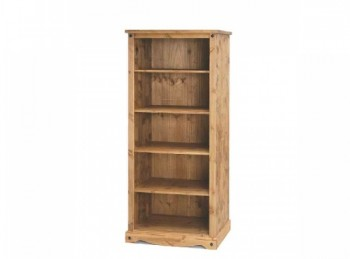 Core Corona Pine Open Bookcase