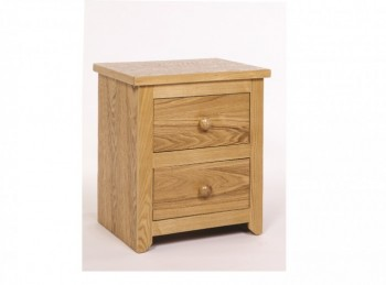 Core Hamilton 2 Drawer Bedside