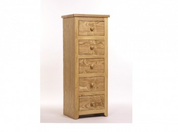 Core Hamilton 5 Drawer Narrow Chest