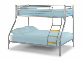Julian Bowen Atlas Metal Triple Sleeper Bunk Bed