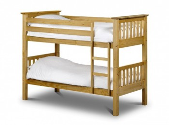 Julian Bowen Barcelona Pine Wooden Bunk Bed