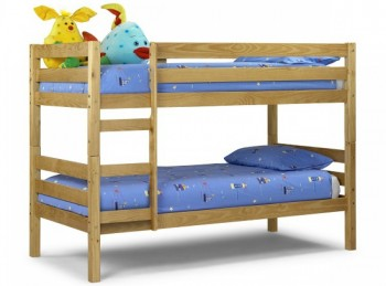 Julian Bowen Wyoming 3ft Single Pine Wooden Bunk Bed