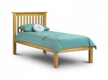 Julian Bowen Barcelona Low Foot End Pine 3ft Single Wooden Bed