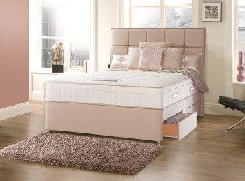 Sealy Posturepedic Jubilee Deluxe 4ft6 Double Divan Bed