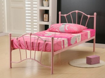 Birlea Sophia 3ft Single Pink Metal Bed Frame