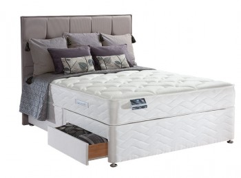 Sealy Pearl Latex 4ft Small Double Divan Bed