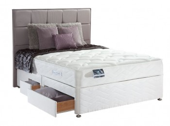 Sealy Pearl Memory 3ft Single Divan Bed