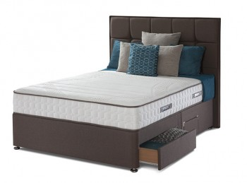 Sealy Pearl Contour 3ft Single Divan Bed