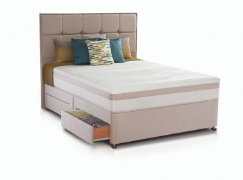 Sealy Pearl Reflexion 3ft Single Divan Bed