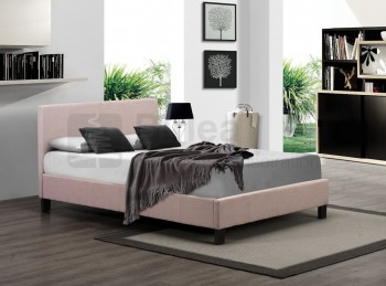 Birlea Berlin 4ft6 Double Wheat Fabric Bed Frame