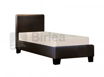 Birlea Brooklyn Brown 3ft Single Faux Leather Bed Frame