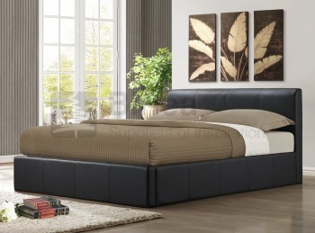 Birlea Ottoman 3ft Single Ottoman Brown Faux Leather Bed Frame