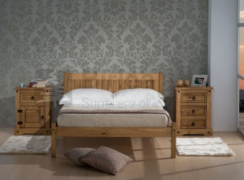Birlea Rio 4ft6 Double Pine Wooden Bed Frame