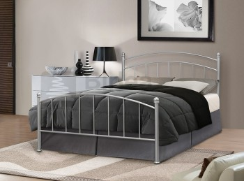 Birlea Eleanor 4ft6 Double Silver Metal Bed Frame