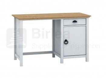 Birlea Richmond White And Pine Desk