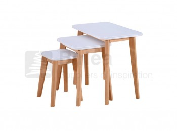 Birlea Felicity Rectangular Nest Of Tables