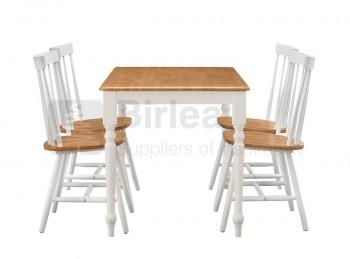 Birlea felicity circular dining set by birlea for Divan finchley