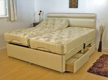 furmanac mibed emma 6ft super kingsize electric adjustable bed