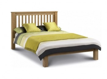 Julian Bowen Amsterdam 5ft Kingsize Low Foot End Oak Bed Frame