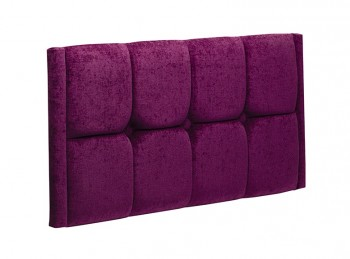 New Design Tiffany 2ft6 Small Single Upholstered Headboard (Choice Of Colours)