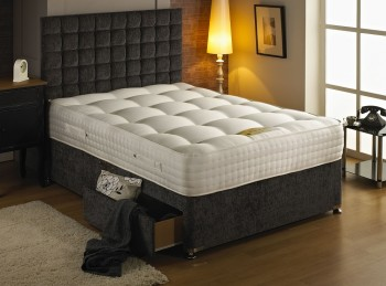 Dura Bed Premier 2000 4ft Small Double 2000 Pocket Springs Divan Bed