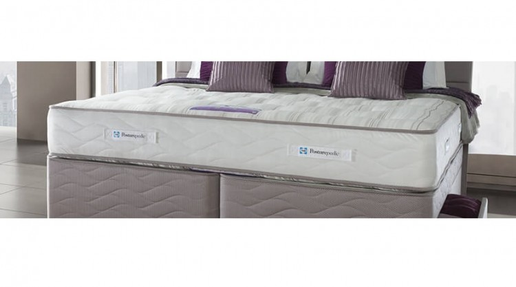Sealy Pearl Ortho 3ft6 Large Single Divan Bed By Sealy