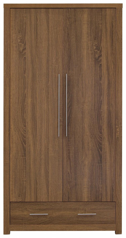 Gfw Havana 2 Door Oak Finish Wardrobe By Gfw