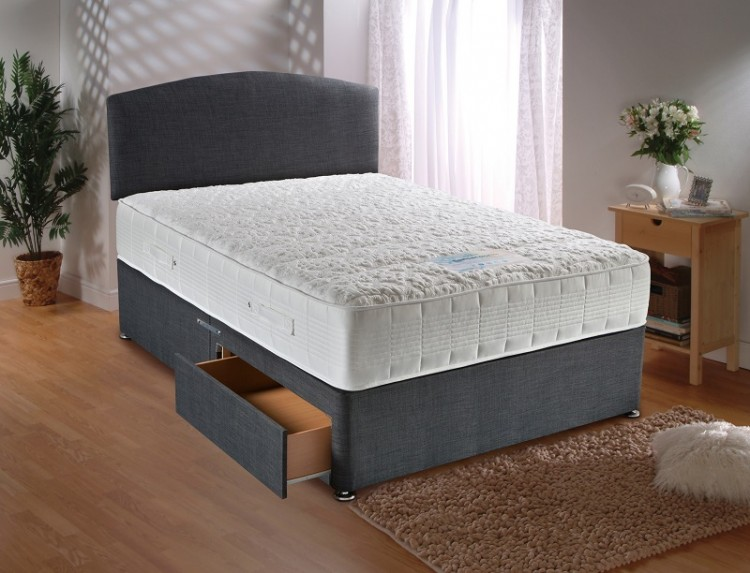 Dura Bed Sensacool 2ft6 Small Single Mattress With 1500 Pocket Springs With Memory Foam By Durabed