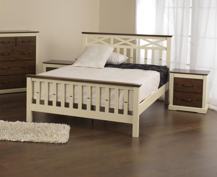 Sweet Dreams Kestrel 4ft 6 Double Oak Wooden Bed Frame