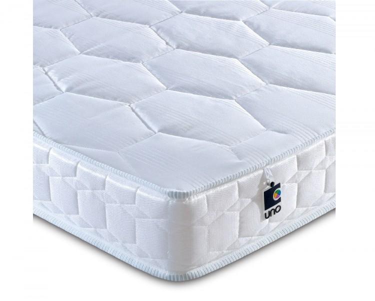 Breasley Uno Deluxe 3ft Single Foam Mattress Bundle Deal By Bundles