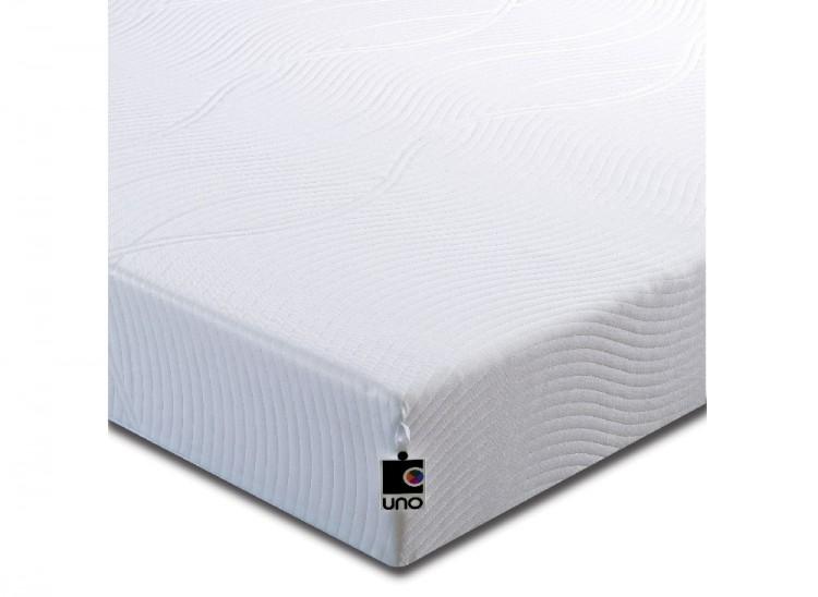 Breasley Uno Vitality 5ft King Size Memory Foam Mattress Bundle Deal By Bundles