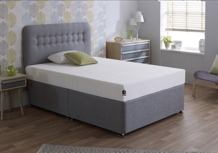 Breasley Uno Vitality 5ft King Size Memory Foam Mattress Bundle Deal By Bundles