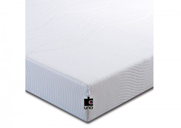 Breasley Uno Vitality Plus 3ft Single Memory Foam Mattress Bundle Deal By Bundles