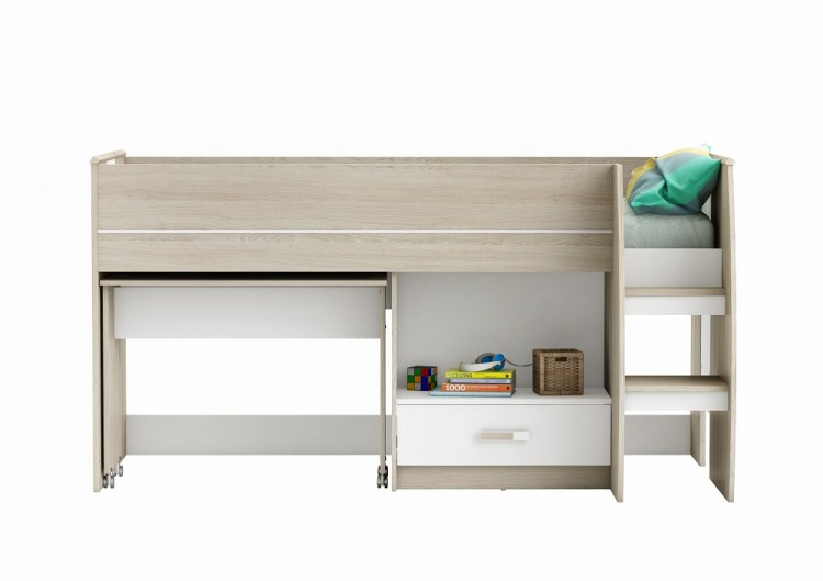 Flair Furnishings Amelia Mid Sleeper Bed By Flair Furnishings
