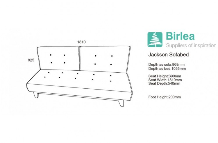 Enjoyable Birlea Jackson Grey Fabric Sofa Bed By Birlea Ibusinesslaw Wood Chair Design Ideas Ibusinesslaworg