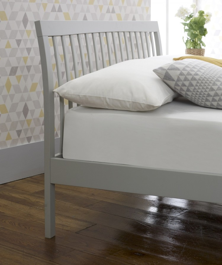 Limelight Ananke 4ft Small Double Grey Wooden Bed Frame By