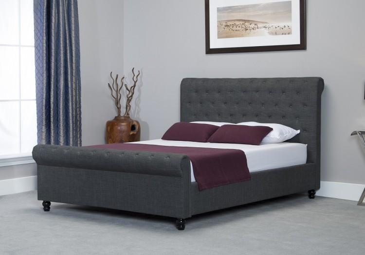 Sensational Emporia Oxford 6Ft Super Kingsize Grey Fabric Ottoman Bed By Inzonedesignstudio Interior Chair Design Inzonedesignstudiocom