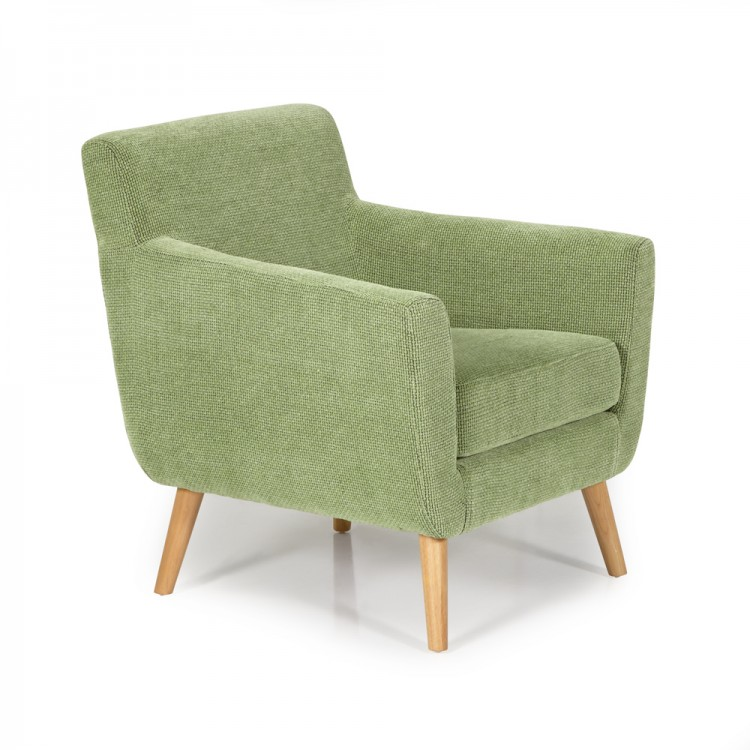 serene kelso green fabric tub chair by serene furnishings
