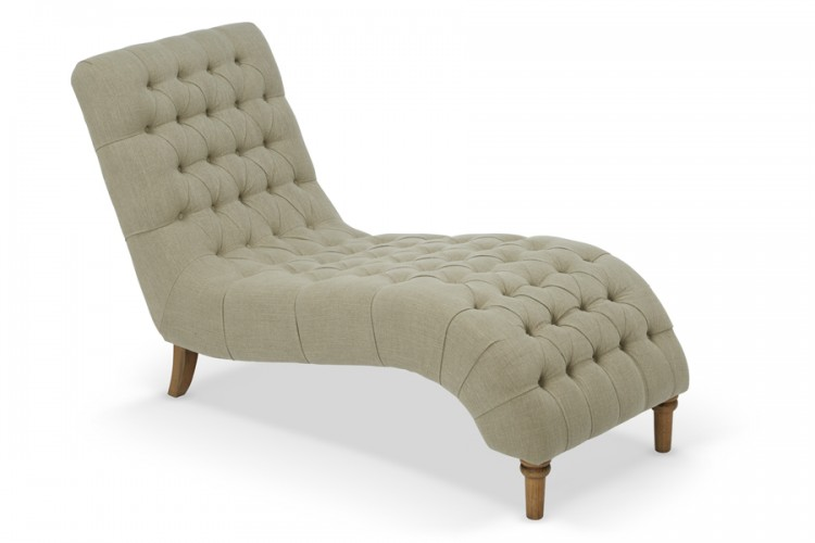 Serene inverness mink fabric chaise lounge by serene for Another name for chaise lounge