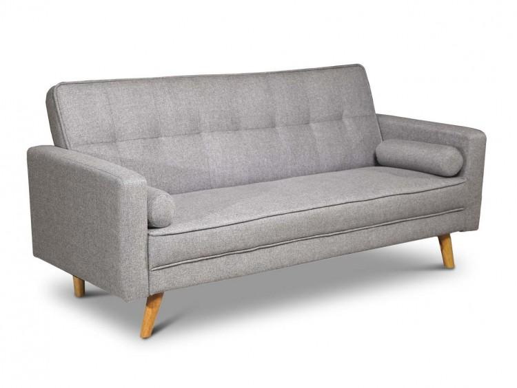 Sleep Design Boston Grey Fabric Sofa Bed By Sleep Design