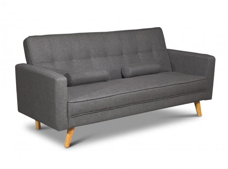 Sleep Design Boston Charcoal Fabric Sofa Bed By Sleep Design
