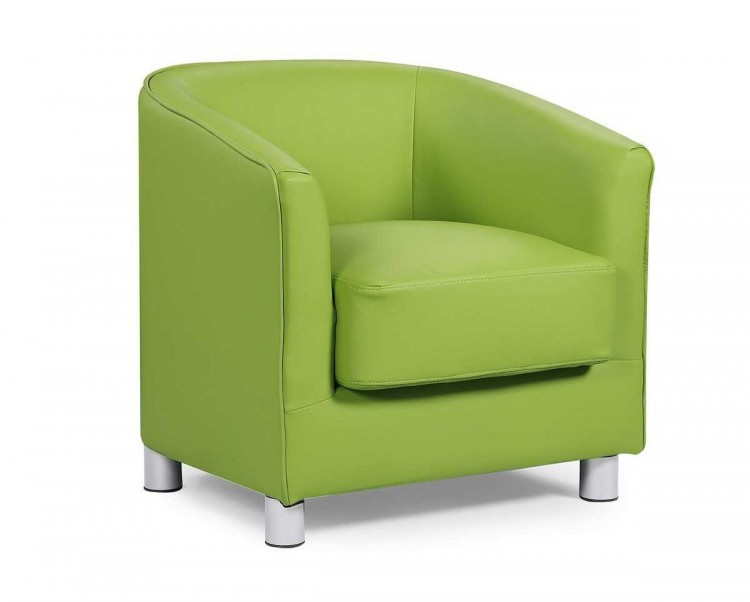 Awesome Sleep Design Vegas Green Faux Leather Tub Chair By Sleep Design Dailytribune Chair Design For Home Dailytribuneorg