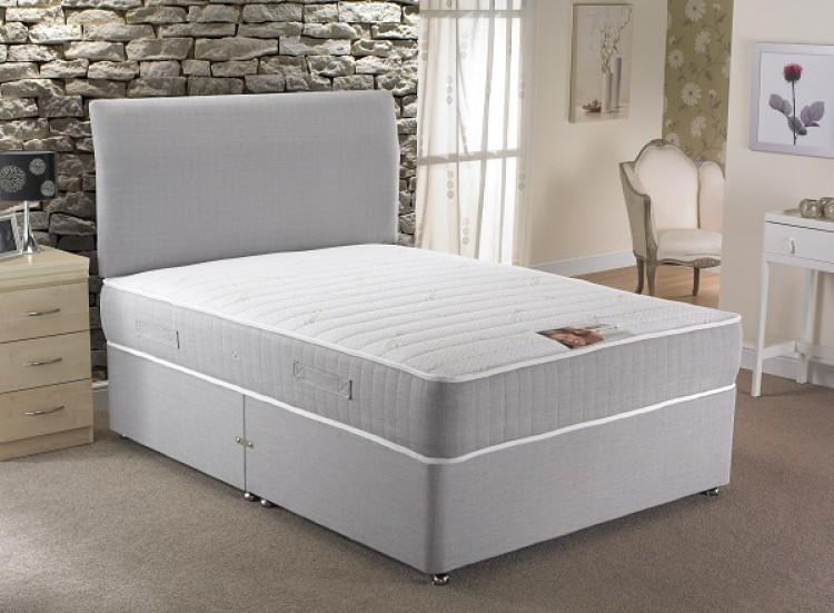la romantica florence 3ft single 1000 pocket sprung with. Black Bedroom Furniture Sets. Home Design Ideas