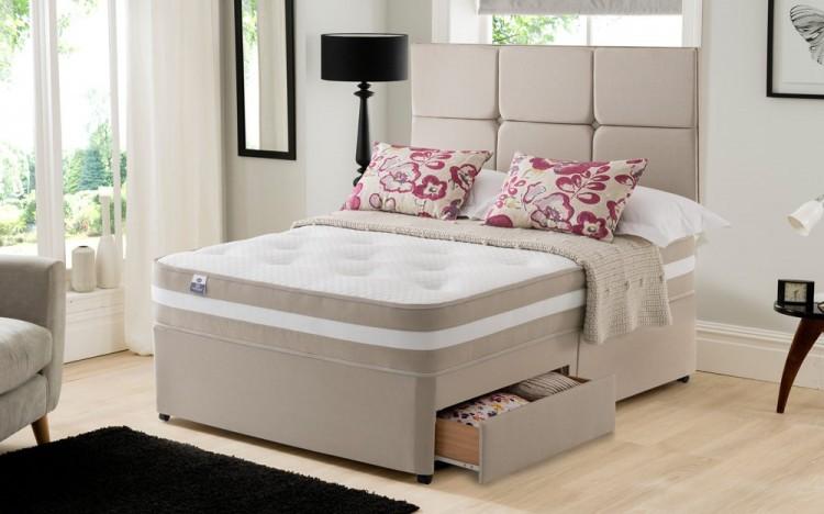 Silentnight torino 6ft super kingsize 1000 mirapocket for 6 foot divan beds