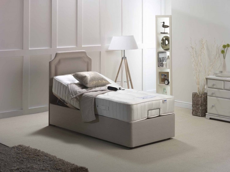 Double Adjustable Beds Electric : Furmanac mibed zoe ft double pocket with memory