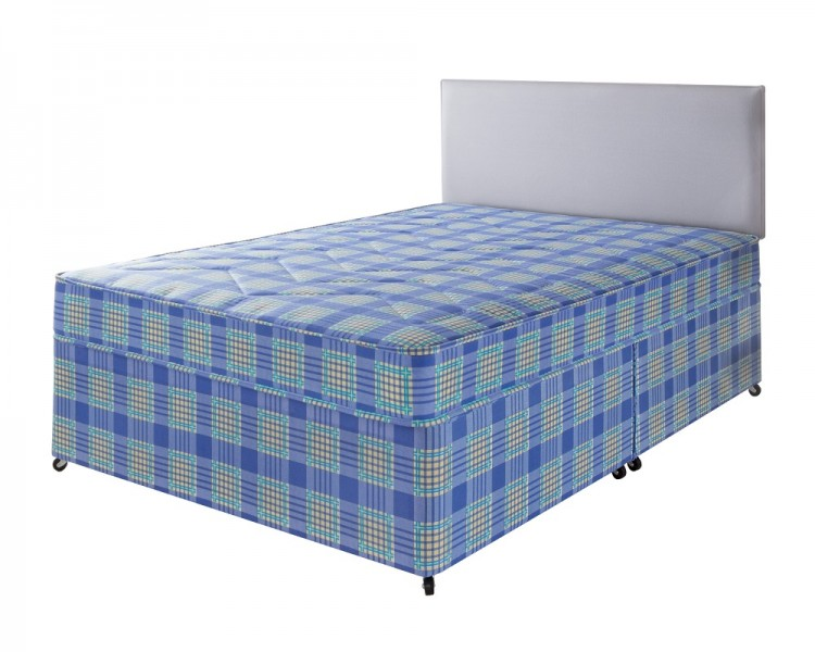 Airsprung windsor 4ft small double divan bed by airsprung beds for Small double divan with mattress