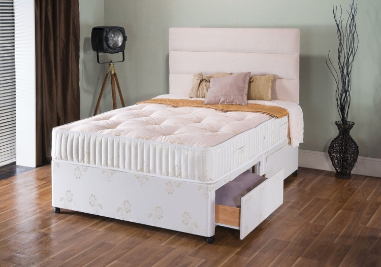 repose gold 1000 pocket 2ft6 small single bed by repose. Black Bedroom Furniture Sets. Home Design Ideas