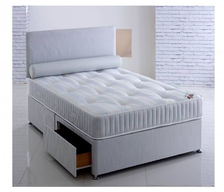 Repose majestyk 3ft single ortho divan bed by repose for White single divan